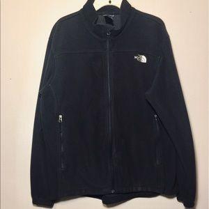 North face men's zip up jacket size L